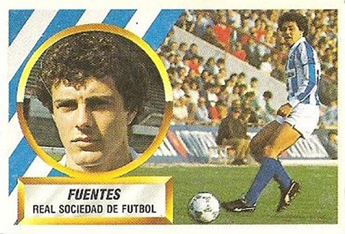 Cromo de Miguel Fuentes - Odio Eterno Al Fútbol Moderno