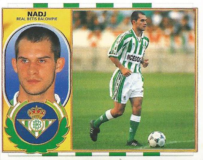 Cromo de Albert Nadj - Odio Eterno Al Fútbol Moderno