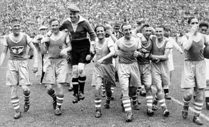 Rapid Viena campeón de Alemania en 1941 - Odio Eterno Al Fútbol Moderno
