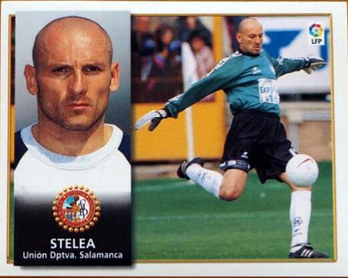 Cromo de Bogdan Stelea - Odio Eterno Al Fútbol Moderno