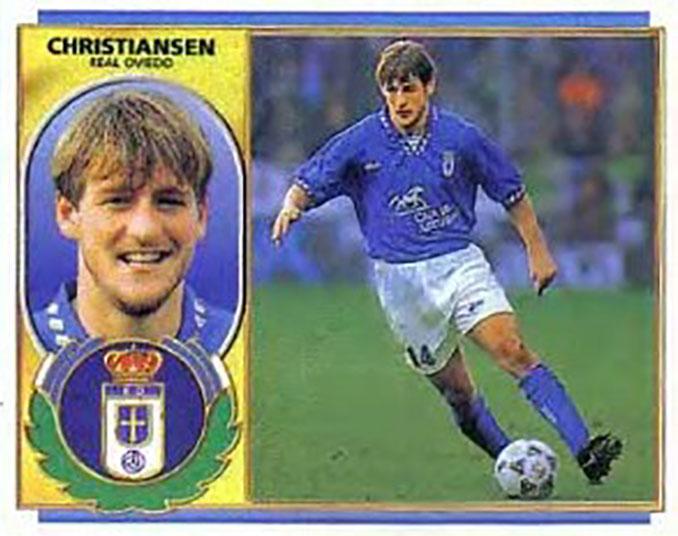 Cromo de Thomas Christiansen - Odio Eterno Al Fútbol Moderno