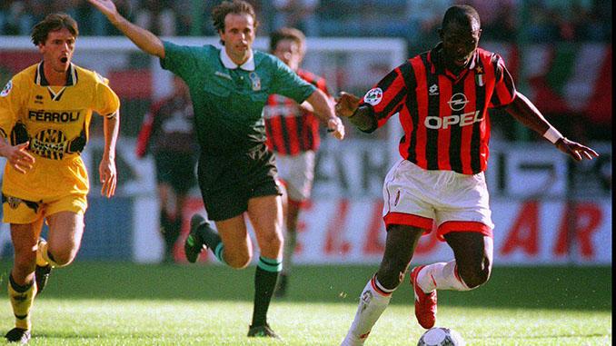 El gol de Weah al Hellas Verona fue uno de los mejores de su carrera - Odio Eterno Al Fútbol Moderno