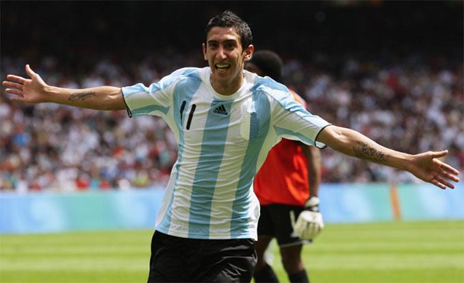 El gol de Di María a Nigeria le dio el oro olímpico a Argentina en 2008 - Odio Eterno Al Fútbol Moderno