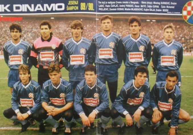 Dinamo Zagreb en la temporada 1989-1990 - Odio Eterno Al Fútbol Moderno