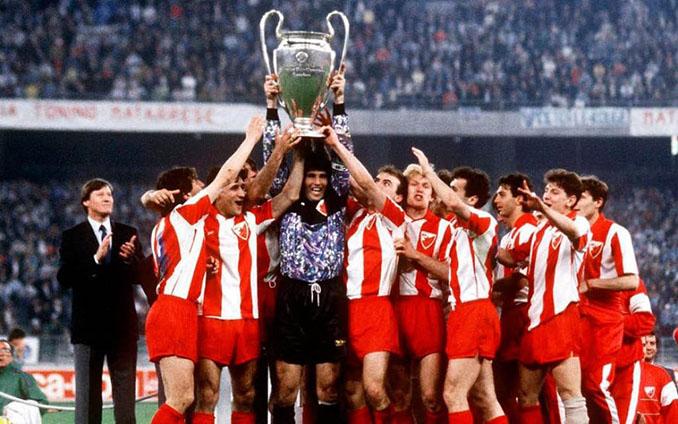 Estrella Roja campeón e Europa en 1991 - Odio Eterno Al Fútbol Moderno