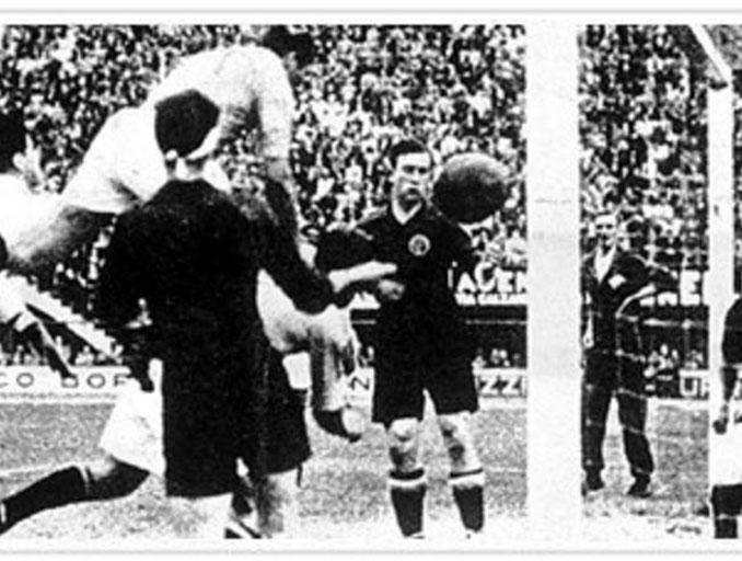 """Meazza marcó el gol de la victoria para Italia en """"La batalla de Florencia"""" - Odio Eterno Al Fútbol Moderno"""