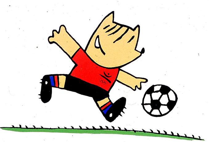 Cobi, la mascota de los Juegos Olímpicos de 1992 - Odio Eterno Al Fútbol Moderno
