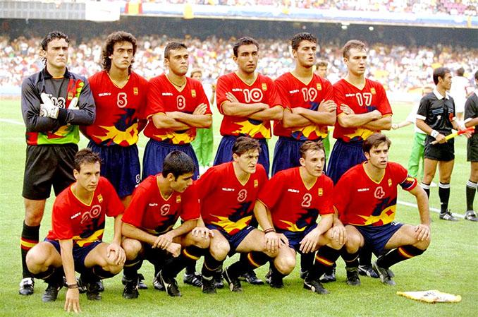 España ganó el oro en los Juegos Olímpicos de 1992 - Odio Eterno Al Fútbol Moderno