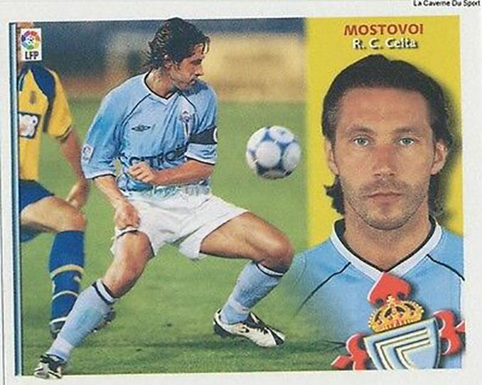 Cromo de Aleksandr Mostovoi - Odio Eterno Al Fútbol Moderno