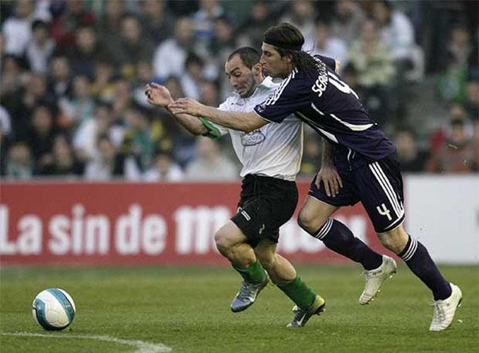 Pedro Munitis en un partido contra el Real Madrid - Odio Eterno Al Fútbol Moderno