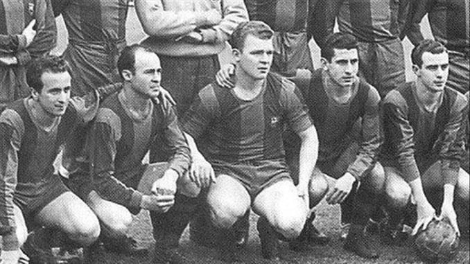 Basora, César, Kubala, Moreno y Manchón en el FC Barcelona - Odio Eterno Al Fútbol Moderno