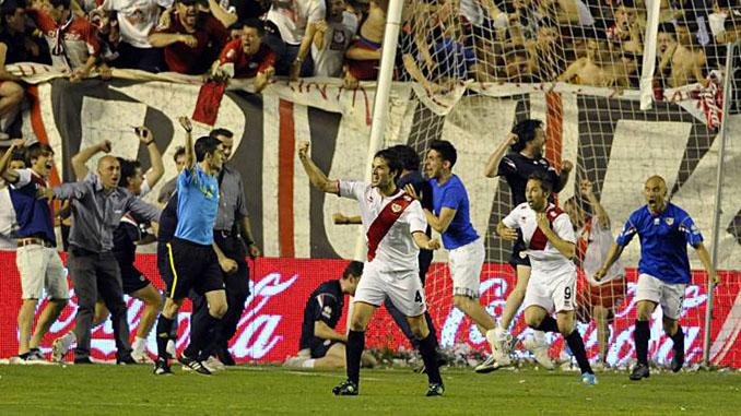 El gol de Tamudo al Granada dio la salvación al Rayo Vallecano en la 2011-2012 - Odio Eterno Al Fútbol Moderno