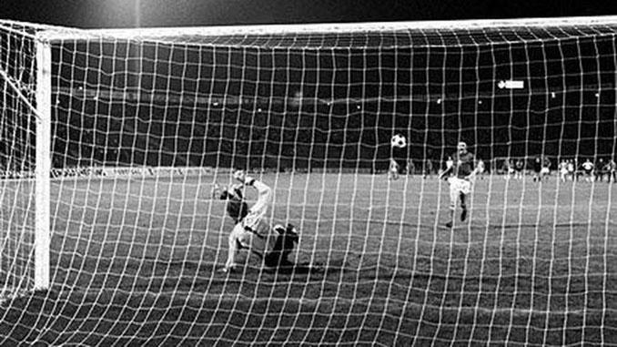El penalti de Panenka - Odio Eterno Al Fútbol Moderno