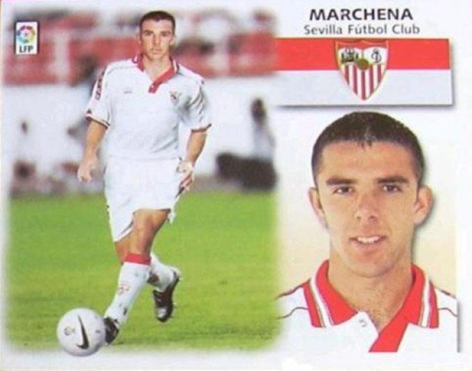 Cromo de Carlos Marchena - Odio Eterno Al Fútbol Moderno