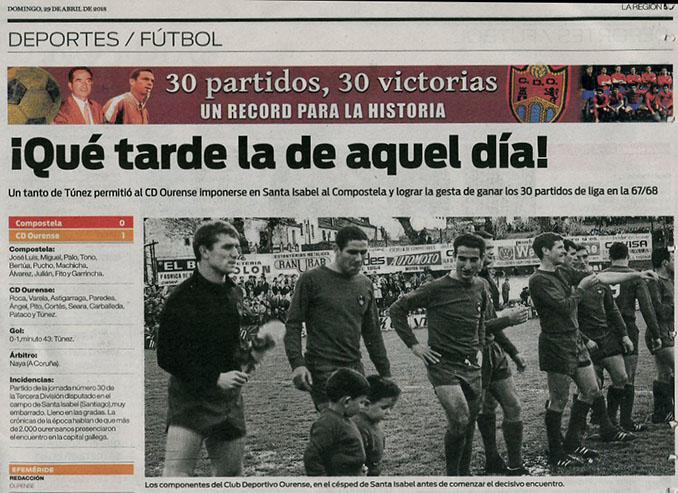 La gesta del CD Ourense se completó ante la SD Compostela - Odio Eterno Al Fútbol Moderno