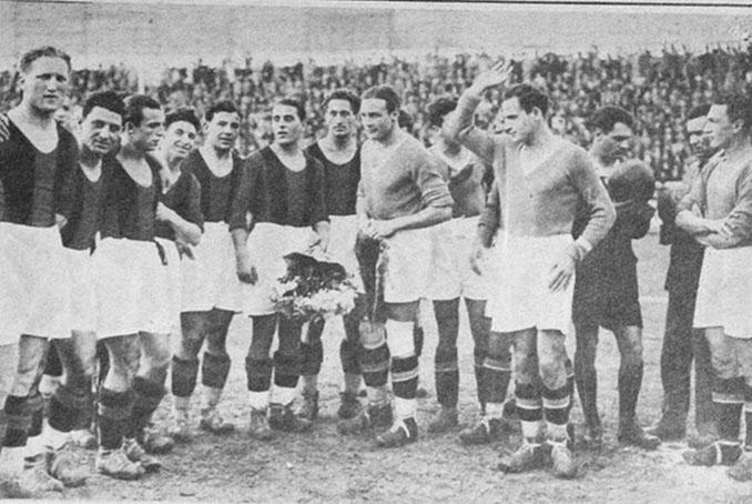 El primer Roma vs Lazio se disputó en 1929 - Odio Eterno Al Fútbol Moderno