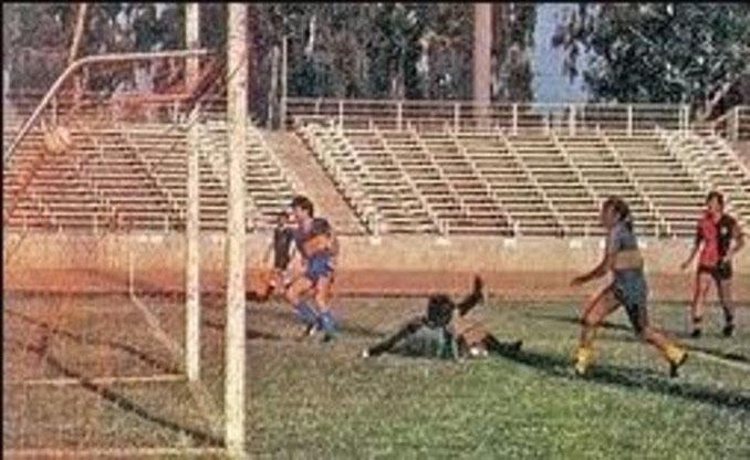Hugo Gatti el día que jugó de delantero contra Atlas - Odio Eterno Al Fútbol Moderno