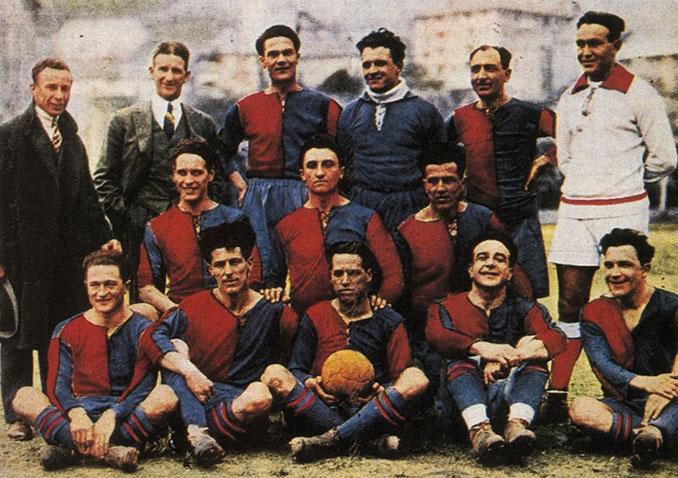 Genoa en la temporada 1923-1924 - Odio Eterno Al Fútbol Moderno