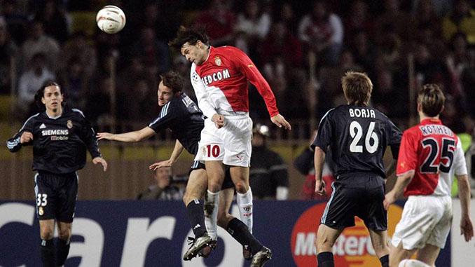 Morientes marcó dos goles en la eliminatoria entre Real Madrid y AS Mónaco de la 2003-2004 - Odio Eterno Al Fútbol Moderno