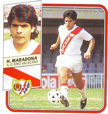 Cromo de Hugo Maradona - Odio Eterno Al Fútbol Moderno