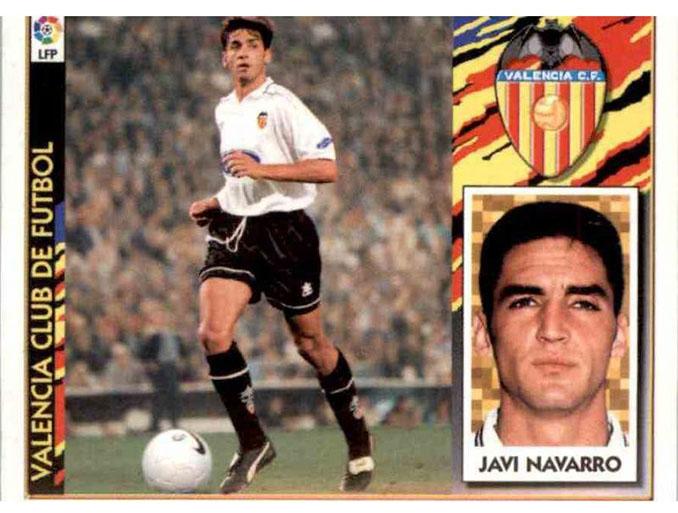 Cromo de Javi Navarro - Odio Eterno Al Fútbol Moderno