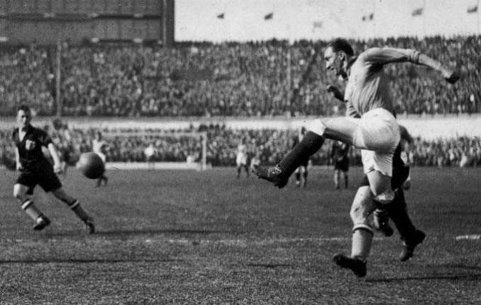 Lucien Laurent marcó el primer gol en un Mundial - Odio Eterno Al Fútbol Moderno