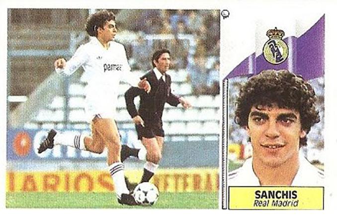 Cromo de Manolo Sanchís - Odio Eterno Al Fútbol Moderno