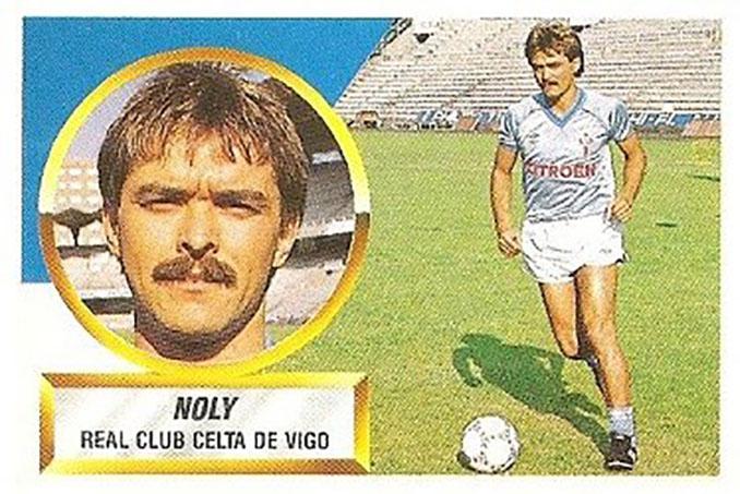 Cromo de Noly - Odio Eterno Al Fútbol Moderno