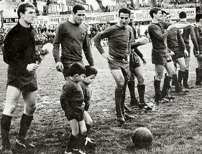 Alineación del CD Ourense en el último partido de la temporada 1967-1968 - Odio Eterno Al Fútbol Moderno