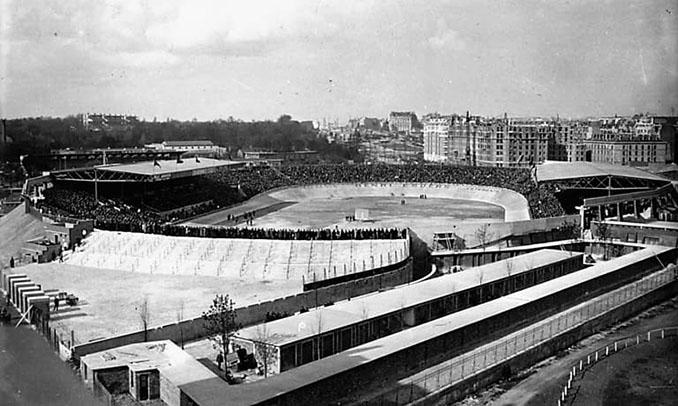 Parque de los Príncipes en 1932 - Odio Eterno Al Fútbol Moderno