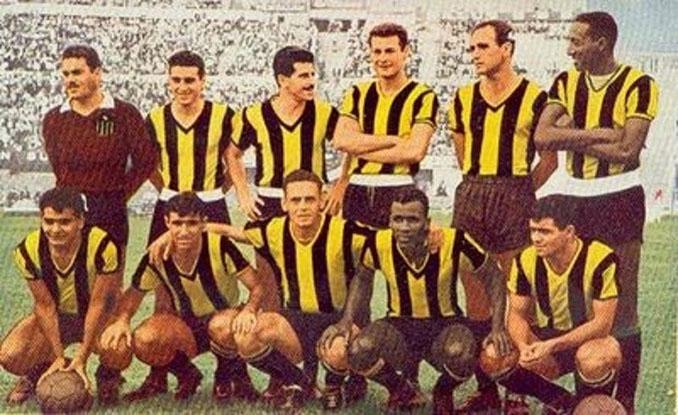La camiseta de Peñarol en 1960 - Odio Eterno Al Fútbol Moderno