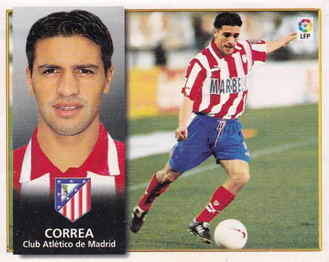 """Cromo de """"Petete"""" Correa - Odio Eterno Al Fútbol Moderno"""