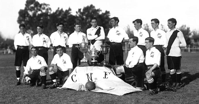 La camiseta de Nacional empezó a ser tricolor en 1902 - Odio Eterno Al Fútbol Moderno