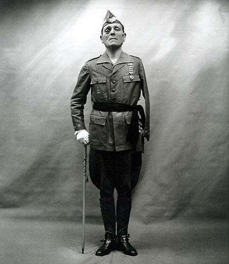 El general José Millán-Astray, fundador de la Legión - Odio Eterno Al Fútbol Moderno