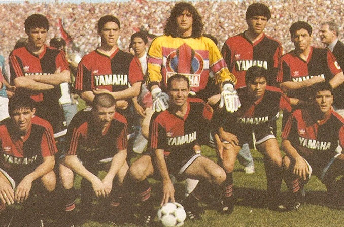 Alineación de Newell's en el debut de Maradona - Odio Eterno Al Fútbol Moderno