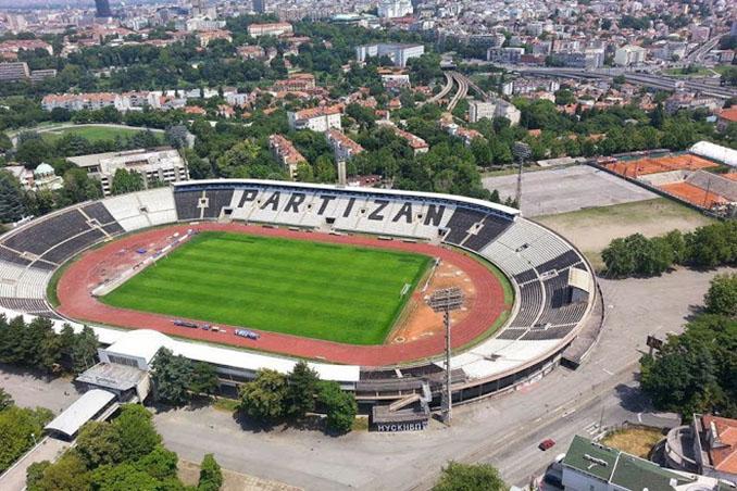 El Estadio Partizán es la casa del FK Partizán de Belgrado desde 1949 - Odio Eterno Al Fútbol Moderno