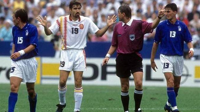 Salinas tuvo en sus botas la victoria ante Italia en 1994 - Odio Eterno Al Fútbol Moderno