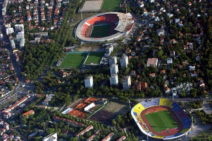 Apenas un kilómetro separa el Estadio Partizán del Pequeño Maracaná - Odio Eterno Al Fútbol Moderno