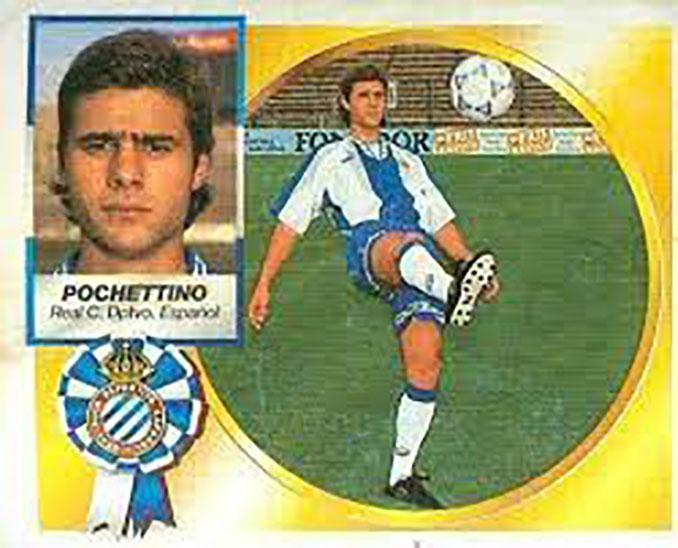 Cromo de Mauricio Pochettino - Odio Eterno Al Fútbol Moderno