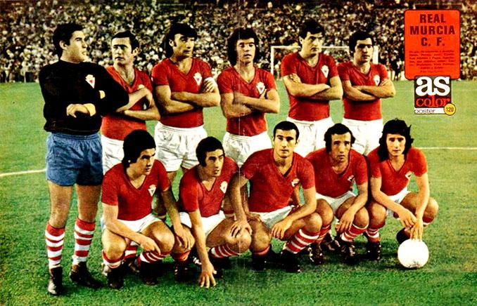 Real Murcia en al temporada 1973-1974 - Odio Eterno Al Fútbol Moderno