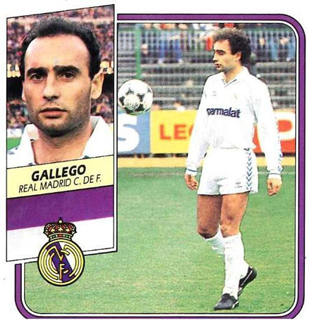 Cromo de Ricardo Gallego - Odio Eterno Al Fútbol Moderno
