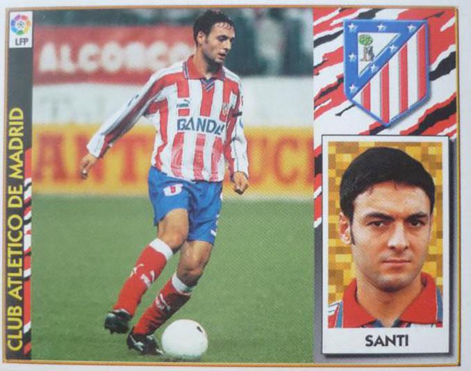 Cromo de Santi Denia - Odio Eterno Al Fútbol Moderno