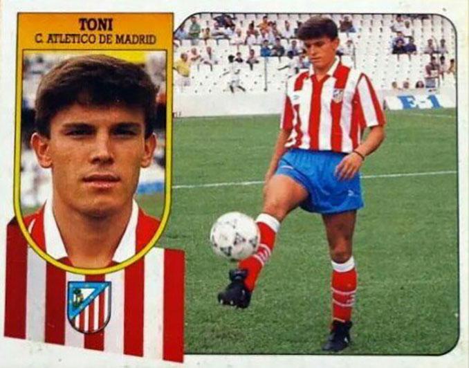 Cromo de Toni Muñoz - Odio Eterno Al Fútbol Moderno