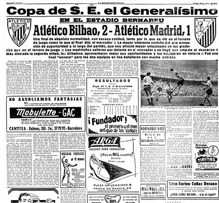 Crónica de la final de Copa de 1956 - Odio Eterno Al Fútbol Moderno