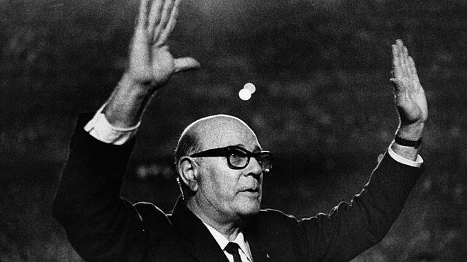 El homenaje a Zamora en 1967 - Odio Eterno Al Fútbol Moderno